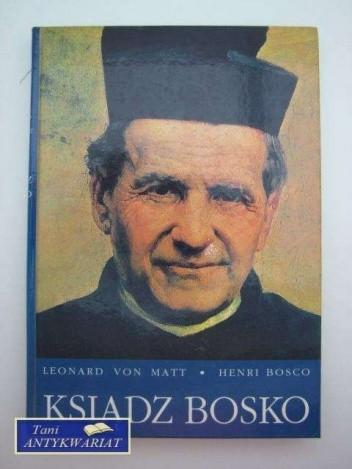 Okładka książki Ksiądz Bosko