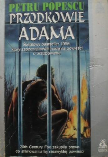 Okładka książki Przodkowie Adama