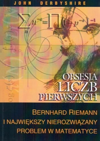 Okładka książki Obsesja liczb pierwszych