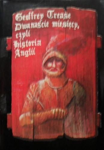 Okładka książki Dwanaście miesięcy, czyli historia Anglii.