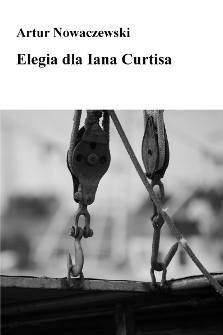 Okładka książki Elegia dla Iana Curtisa