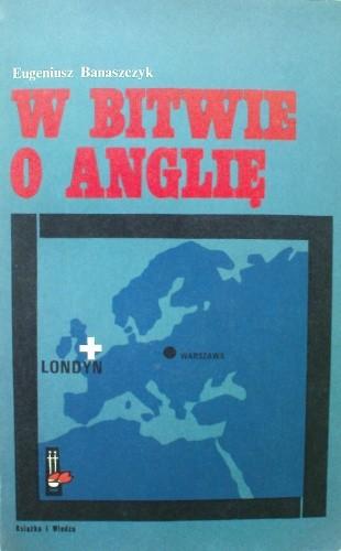 Okładka książki W bitwie o Anglię