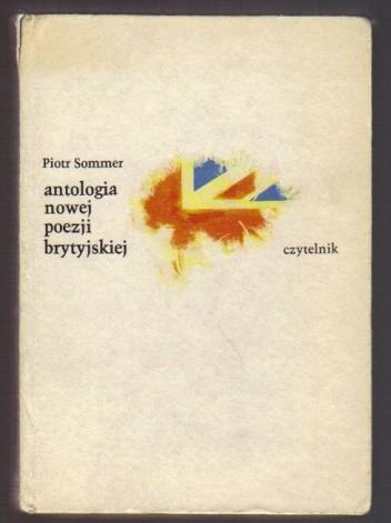 Okładka książki Antologia nowej poezji brytyjskiej