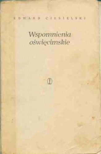 Okładka książki Wspomnienia Oświęcimskie