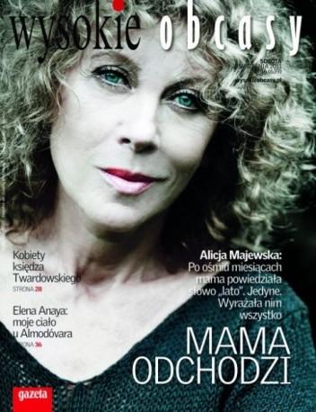 Okładka książki Wysokie Obcasy, nr 36 (639), 10.09.2011