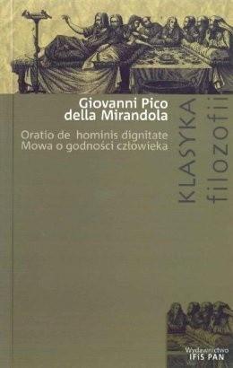 Okładka książki Mowa o godności człowieka