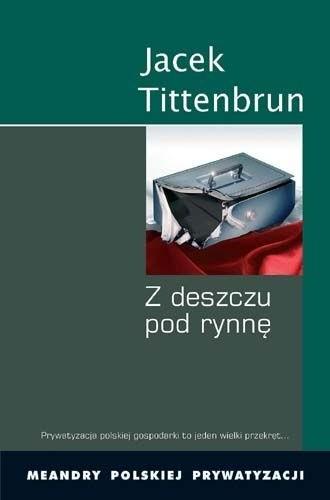 Okładka książki Z Deszczu pod Rynnę. Meandry Polskiej Prywatyzacji. Tom II