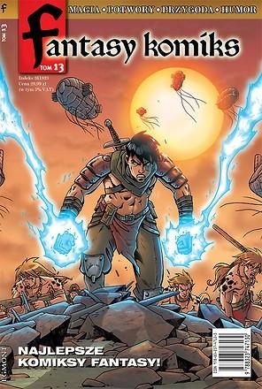 Okładka książki Fantasy Komiks t.13