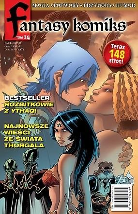 Okładka książki Fantasy Komiks t.14