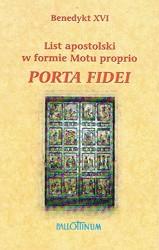 Okładka książki Porta fidei. List apostolski