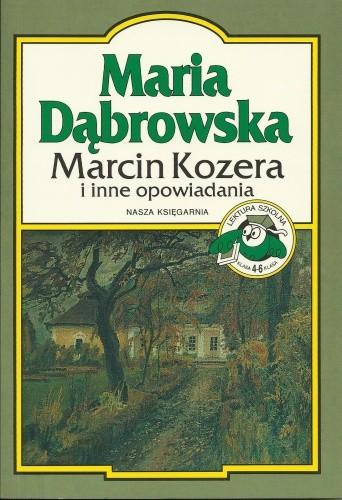 Okładka książki Marcin Kozera i inne opowiadania