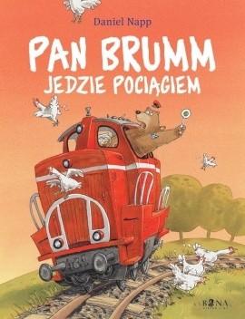 Okładka książki Pan Brumm jedzie pociągiem