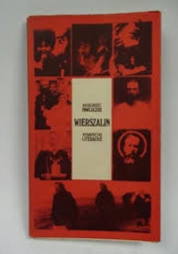 Okładka książki Wierszalin. Reportaż o końcu świata