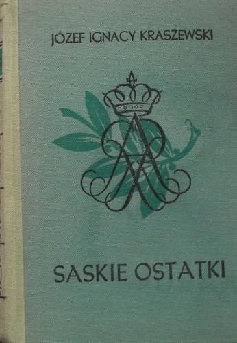 Okładka książki Saskie ostatki