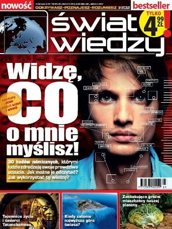 Okładka książki Świat Wiedzy (3/2012)