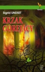 Okładka książki Krzak Gorejący
