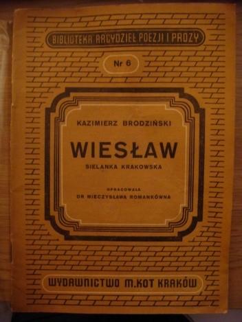 Okładka książki Wiesław. Sielanka krakowska