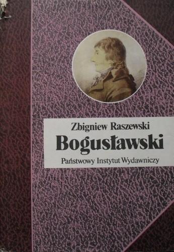 Okładka książki Bogusławski