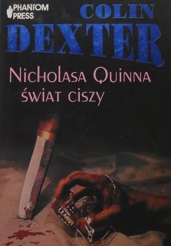 Okładka książki Nicholasa Quinna świat ciszy