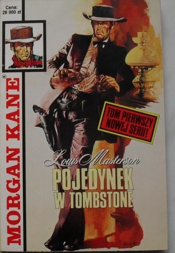 Okładka książki Pojedynek w Tombstone.