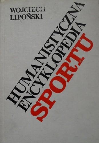 Okładka książki Humanistyczna encyklopedia sportu