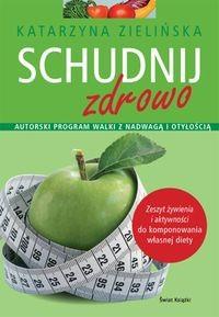 Okładka książki Schudnij zdrowo
