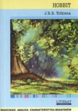 Okładka książki Hobbit  J. R. R. Tolkiena