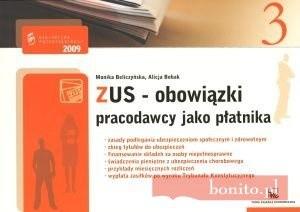 Okładka książki zUS - bowiązki pracodawcy jako płatnika