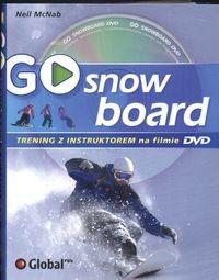 Okładka książki Go Snowboard Trening Z Instruktorem Na Filmie Dvd