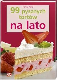 Okładka książki 99 pysznych tortów na lato