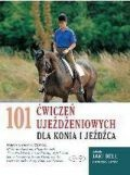Okładka książki 101 ćwiczeń ujeżdżeniowych dla konia i jeźdźca