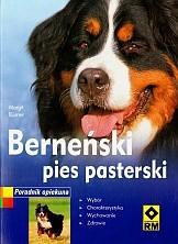 Okładka książki Berneński pies pasterski
