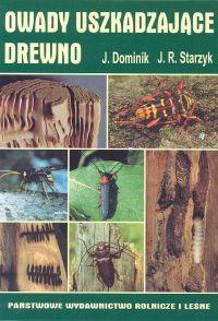 Okładka książki Owady uszkadzające drewno