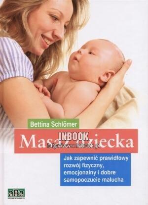 Okładka książki Masaż dziecka - Bettina Schlomer