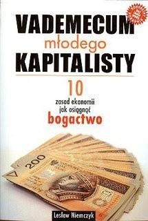 Okładka książki Vademecum młodego kapitalisty. 10 zasad ekonomii jak osiągnąć bogactwo