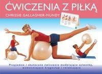 Okładka książki ćwiczenia z piłką