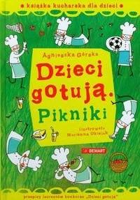 Okładka książki Pikniki : książka kucharska dla dzieci