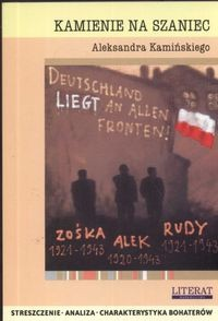 Okładka książki Kamienie na szaniec Aleksandra Kamińskiego