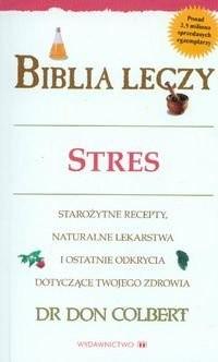 Okładka książki Biblia leczy. Stres