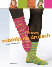 Okładka książki Proste robótki na drutach