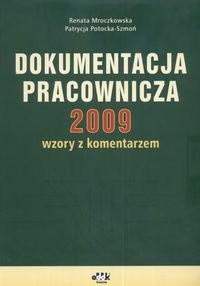 Okładka książki Dokumentacja Pracownicza 2009