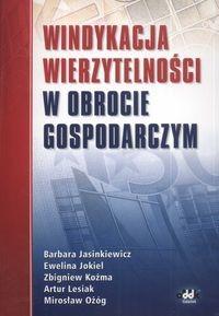 Okładka książki Windykacja Wierzytelności W Obrocie Gospodarczym