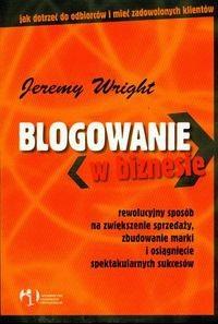 Okładka książki Blogowanie w biznesie