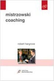 Okładka książki Mistrzowski coaching