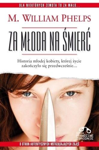 Okładka książki Za młoda na śmierć