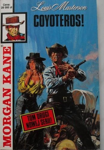 Okładka książki Coyoteros!
