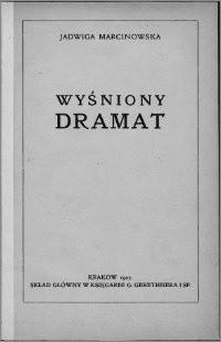 Okładka książki Wyśniony dramat