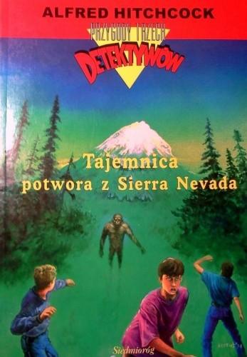 Okładka książki Tajemnica potwora z Sierra Nevada
