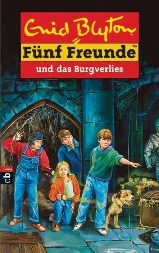 Okładka książki Fünf Freunde und das Burgverlies
