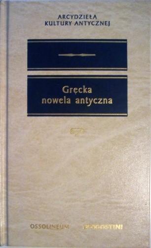 Okładka książki Grecka nowela antyczna
